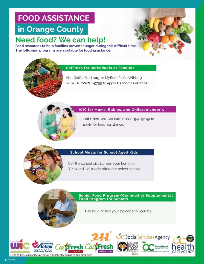 Food Assistance in Orange County