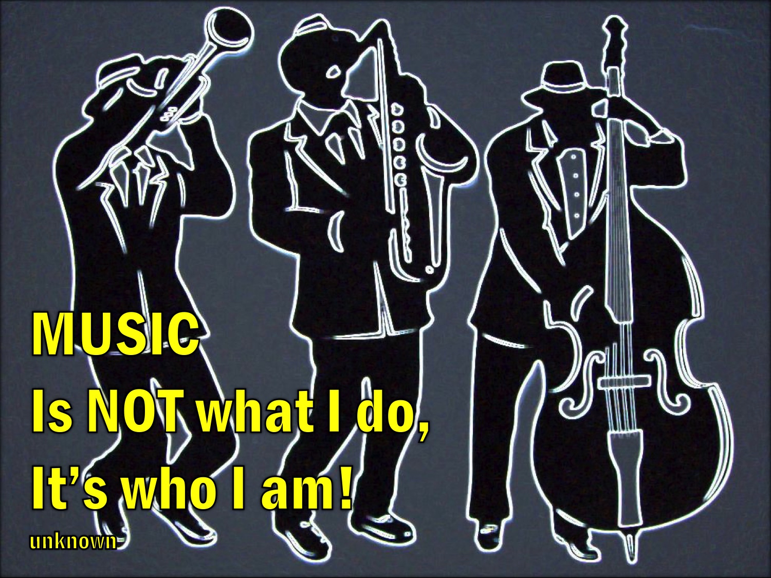 QUOTE Music is not what I do QUOTE.jpg