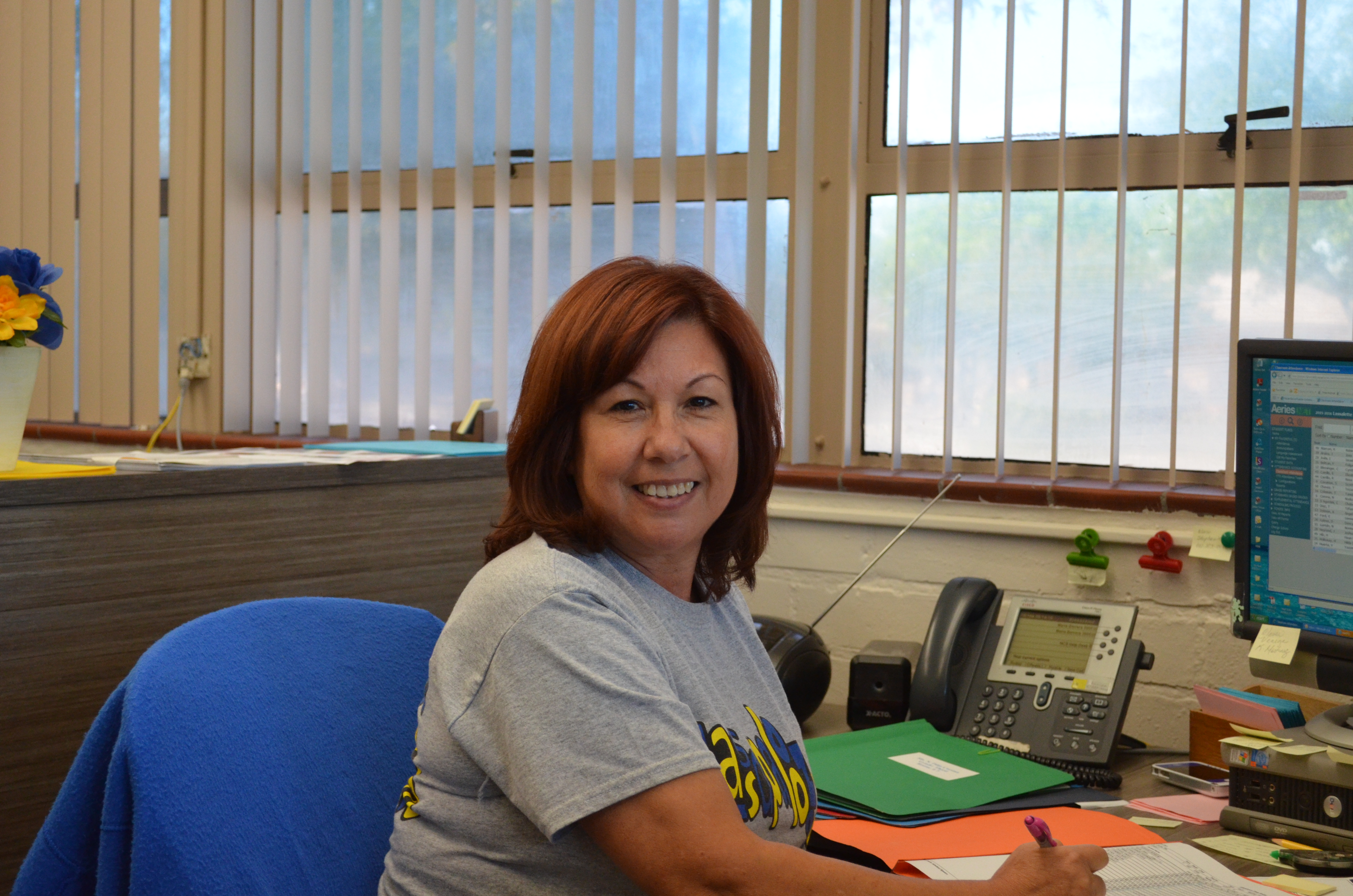 Assistant Manager-Mrs. Barrera