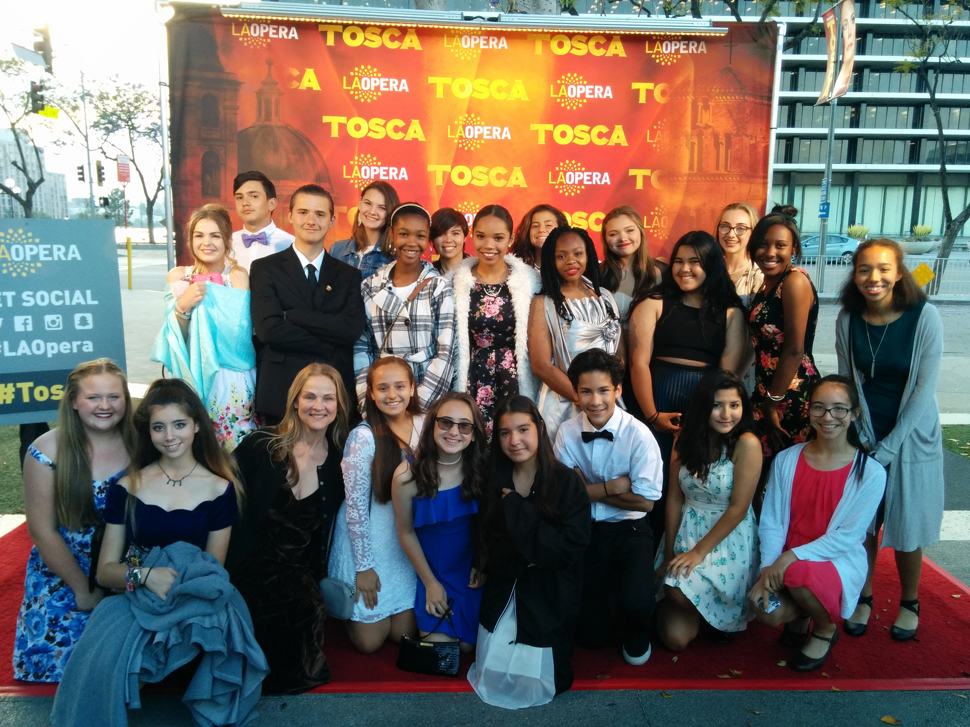 Our Students at the Opera
