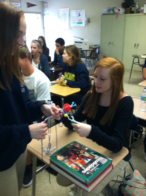 Neuron Models created by Students