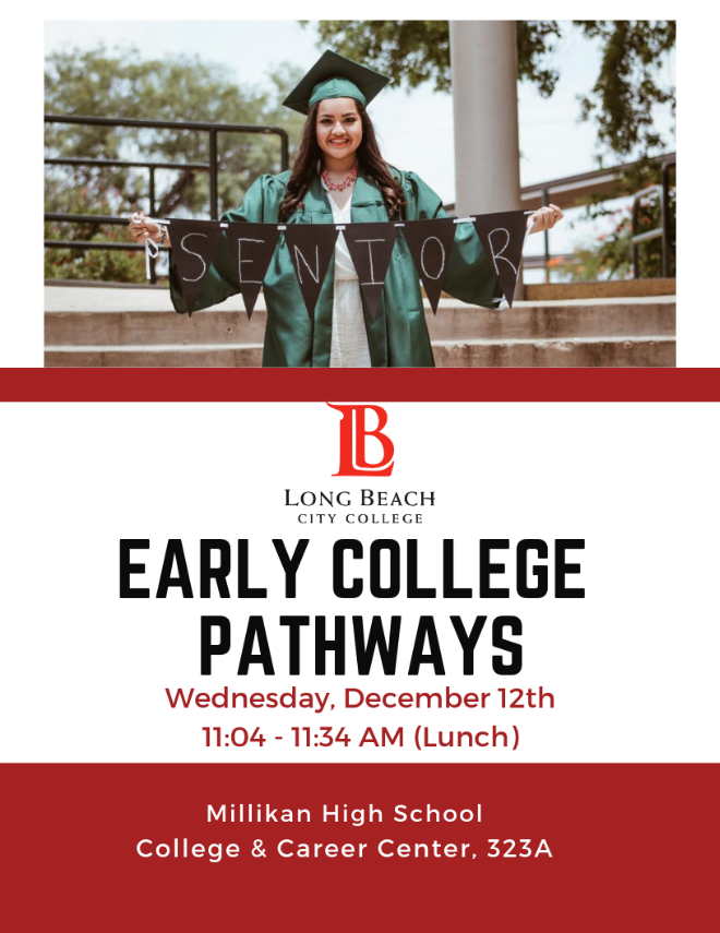 LBCC Early College Pathways presentation on December 12, 2018