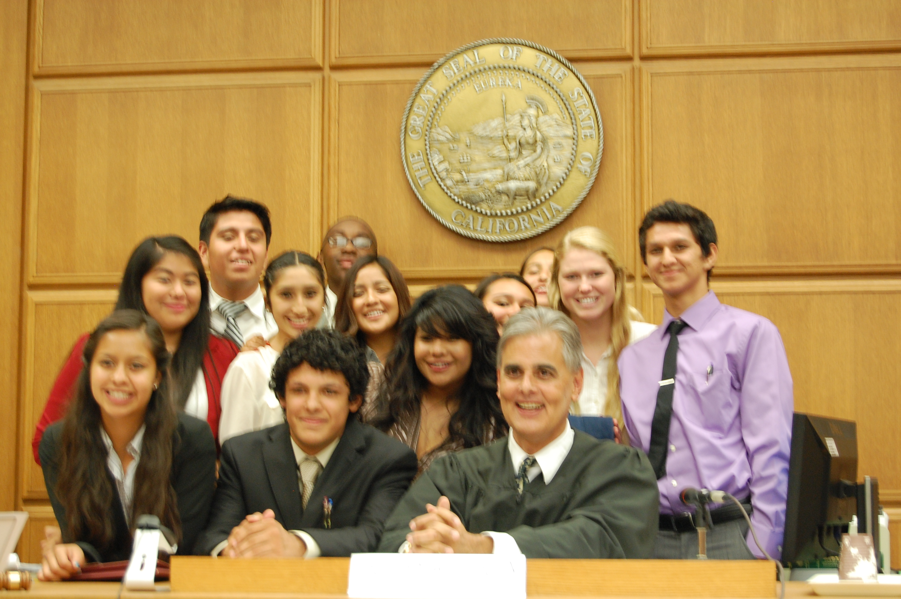 PEACE Students Participate in the Los Angeles Mock Trial Competition
