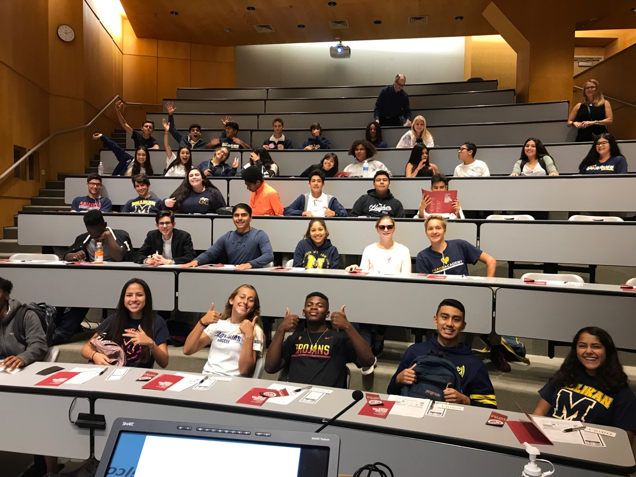 Into to Law Students Visit Loyola Marymount Law School