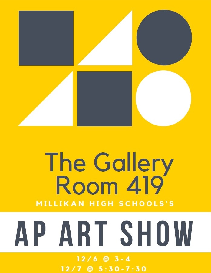AP Art Show Flyer