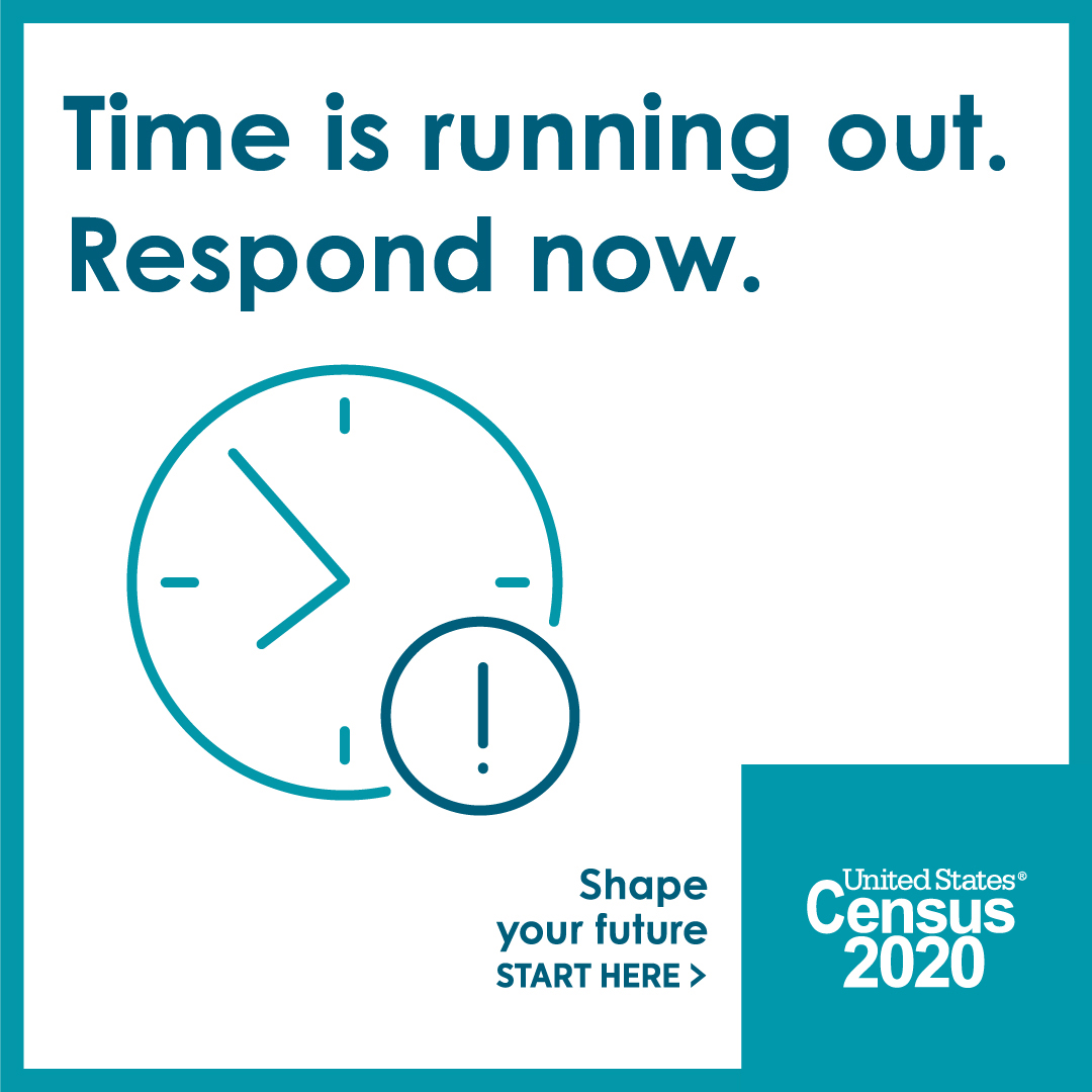 Time is running out for 2020 census