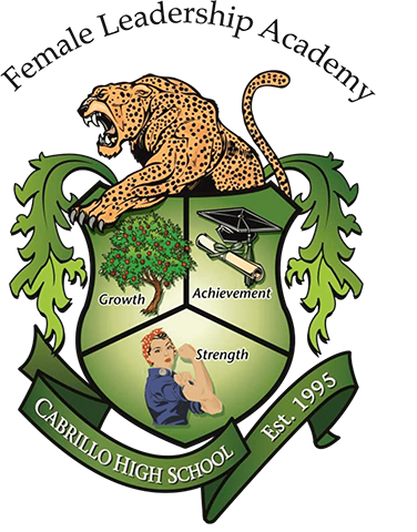 Female leadership academy crest