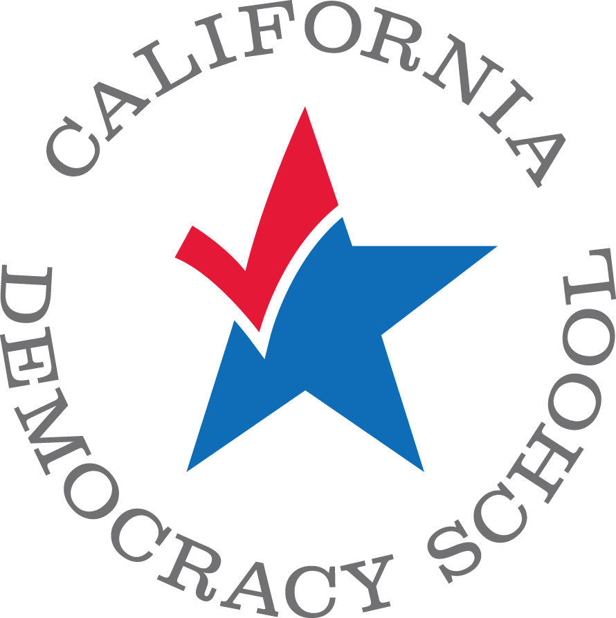 California Democracy School logo