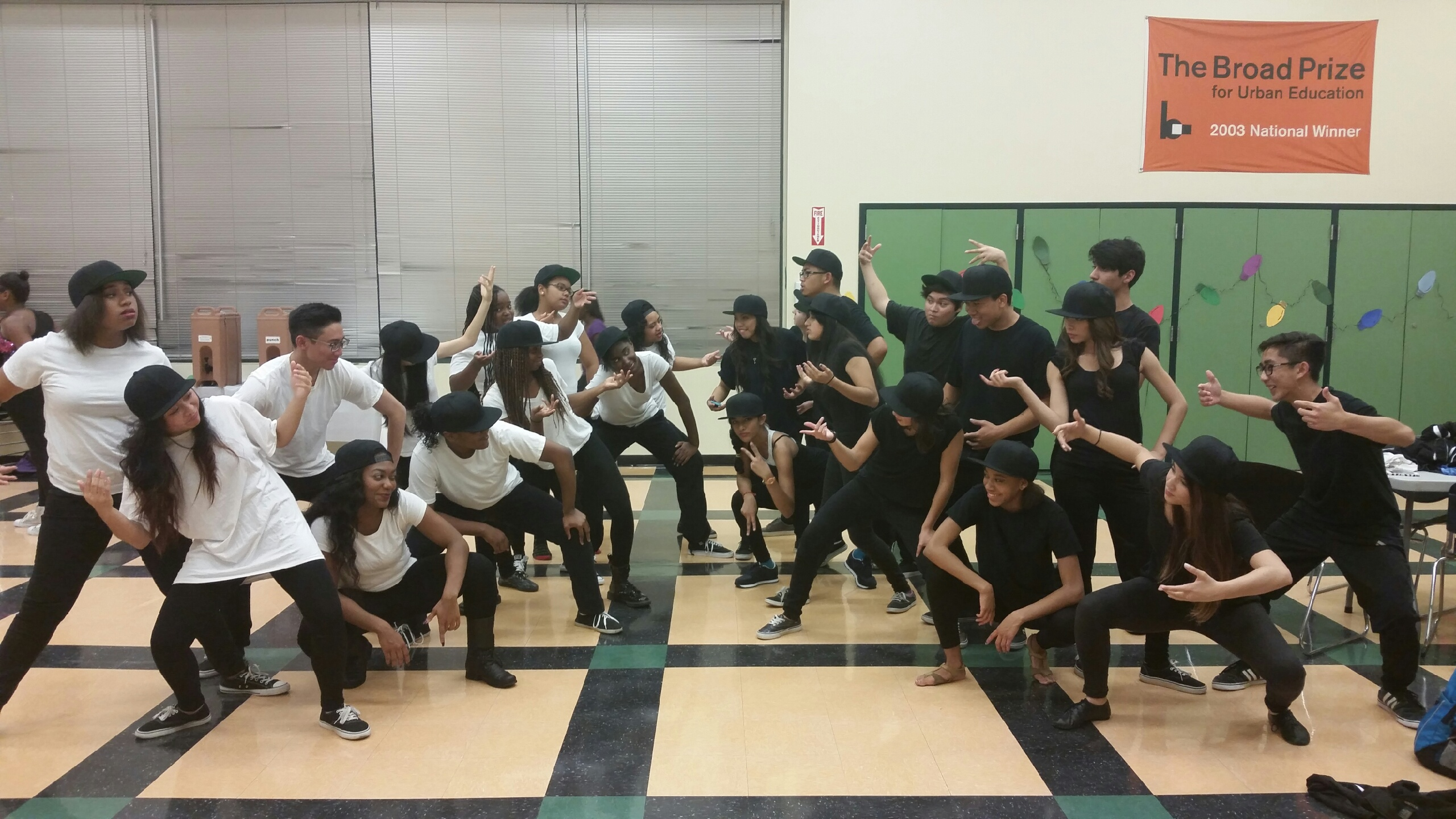 Dance Team at Cabrillo Invitational
