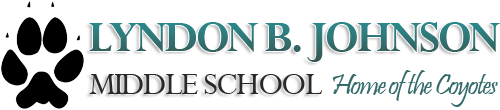Lyndon B Johnson Middle School logo