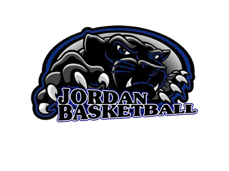 Panther basketball logo