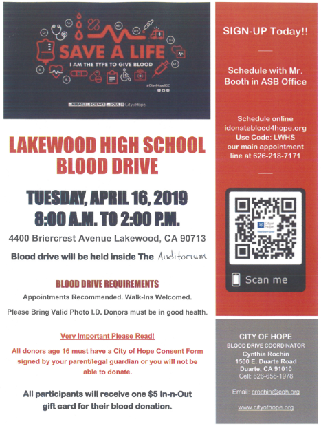 Give Blood Today