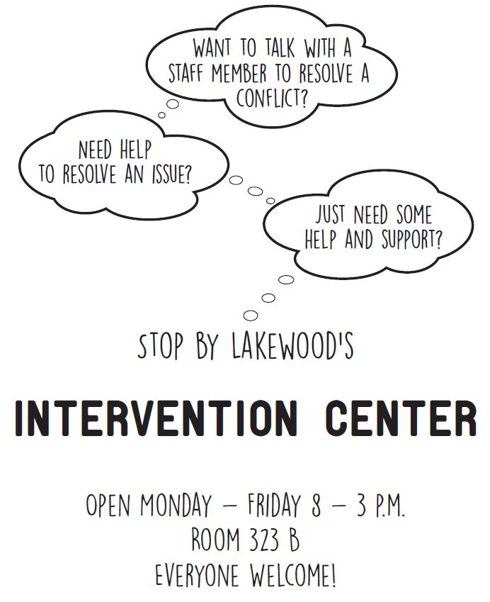 Intervention Center Flyer