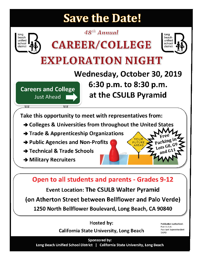 Career and college exploration night