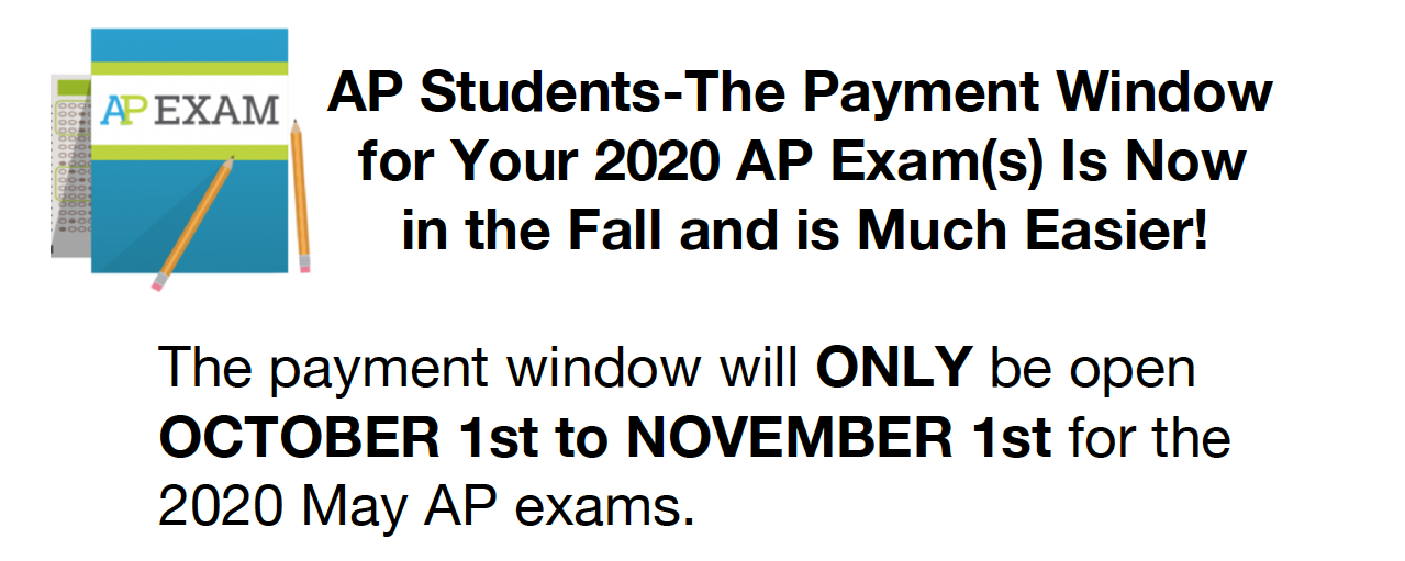 AP Student Payment window