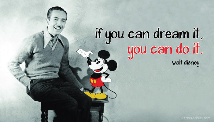 Walt Disney and Micky