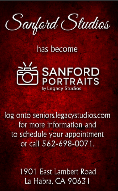 Sanford Portraits Flyer