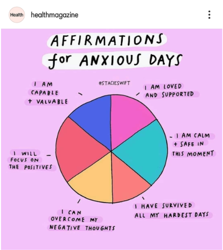 Affirmation for Anxious Days
