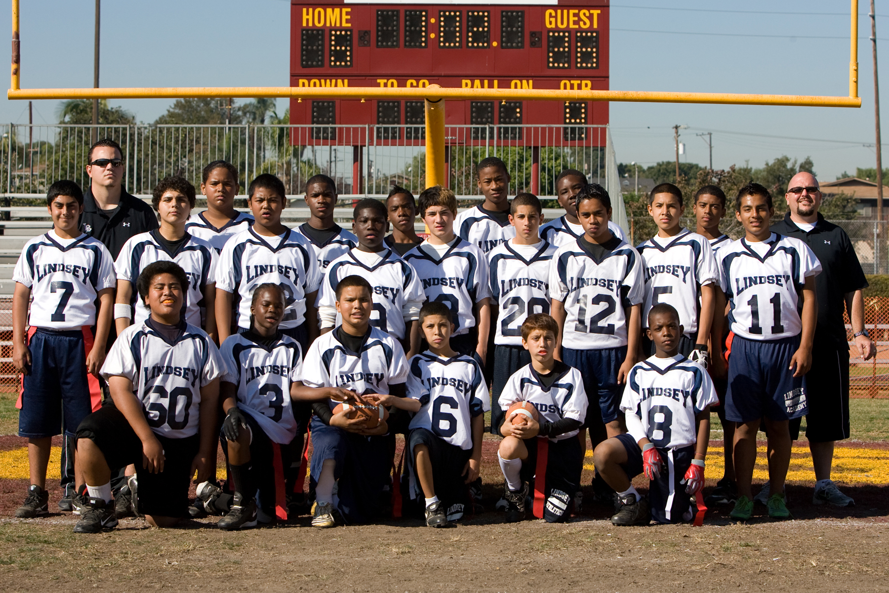 2009-2010 Western League champs, All City runner up