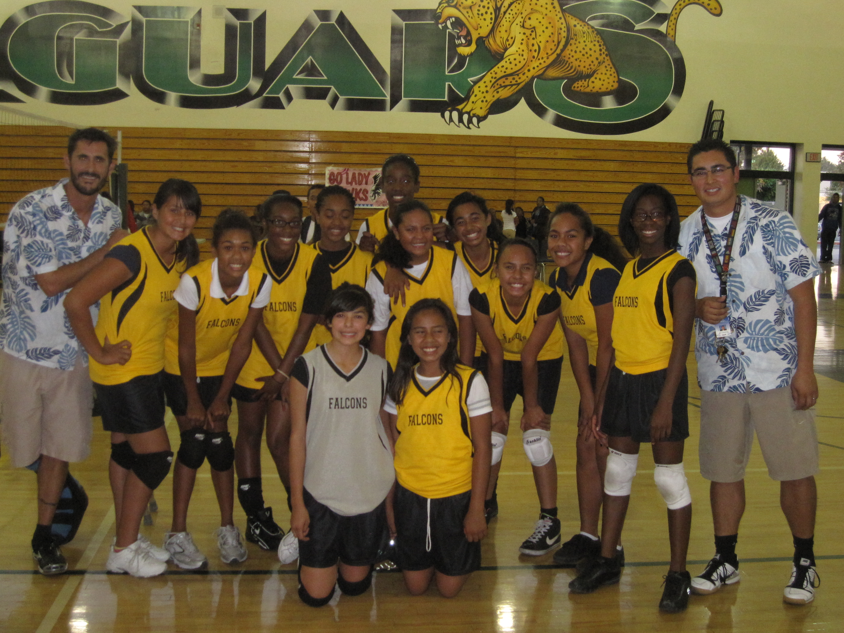 2010 Lady Flacon Western League champs