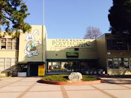 poly front of school