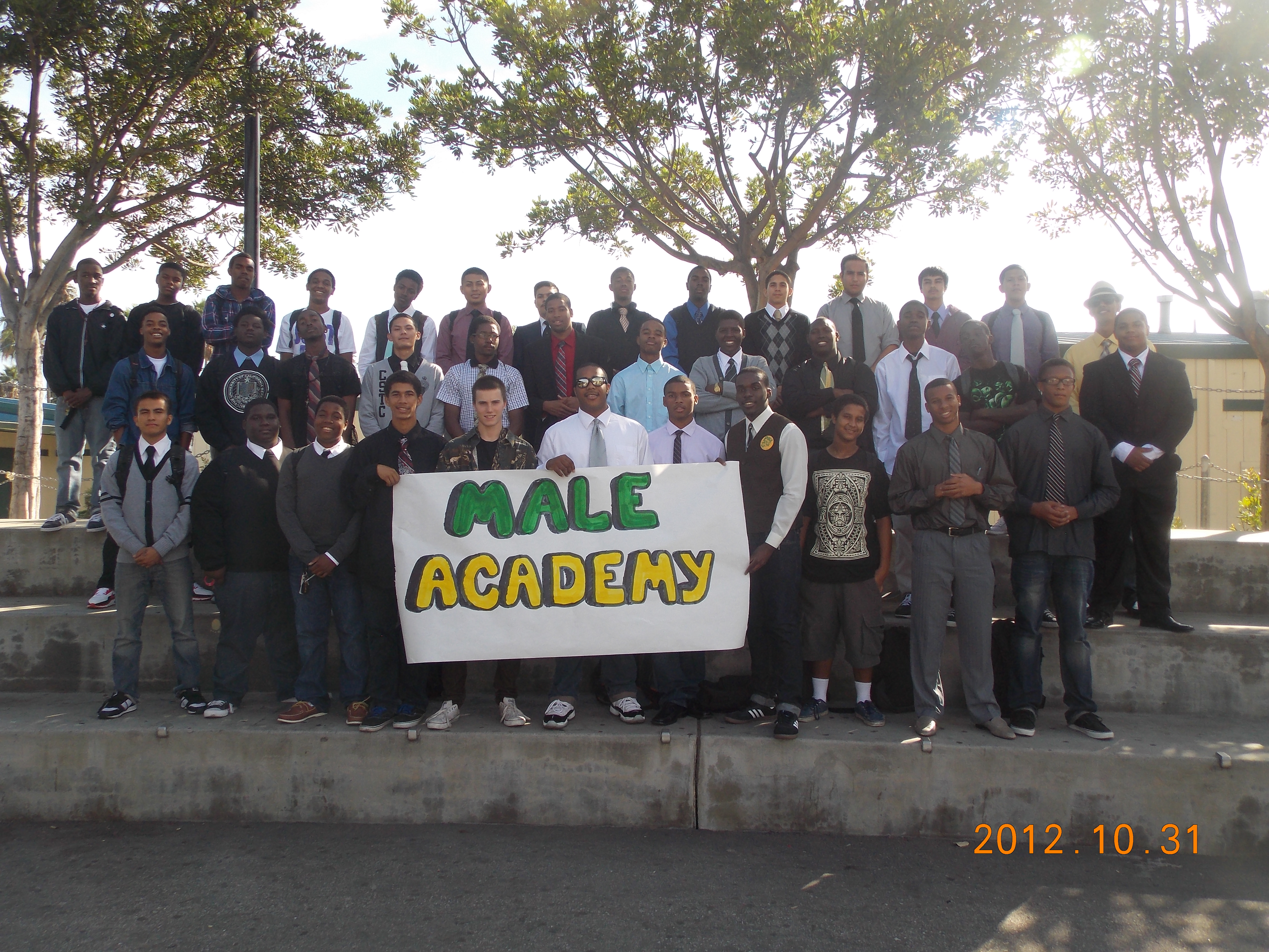 2012-2013 Poly/PAAL Male Academy