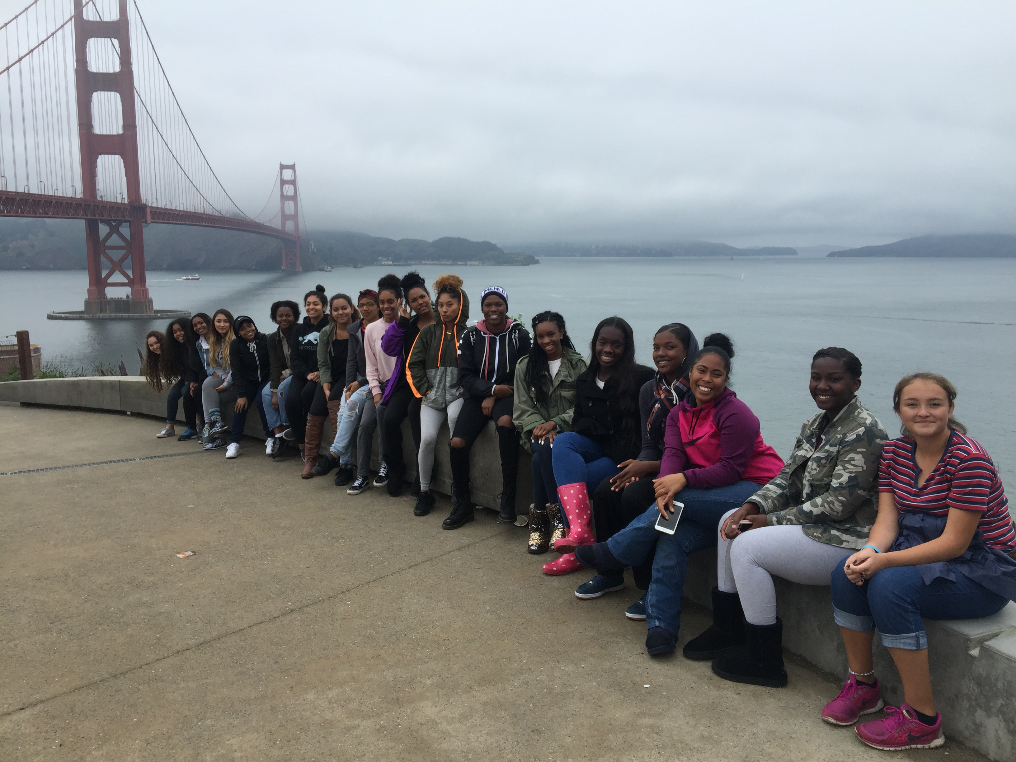 Female Leadership Academy Golden Gate Bridge