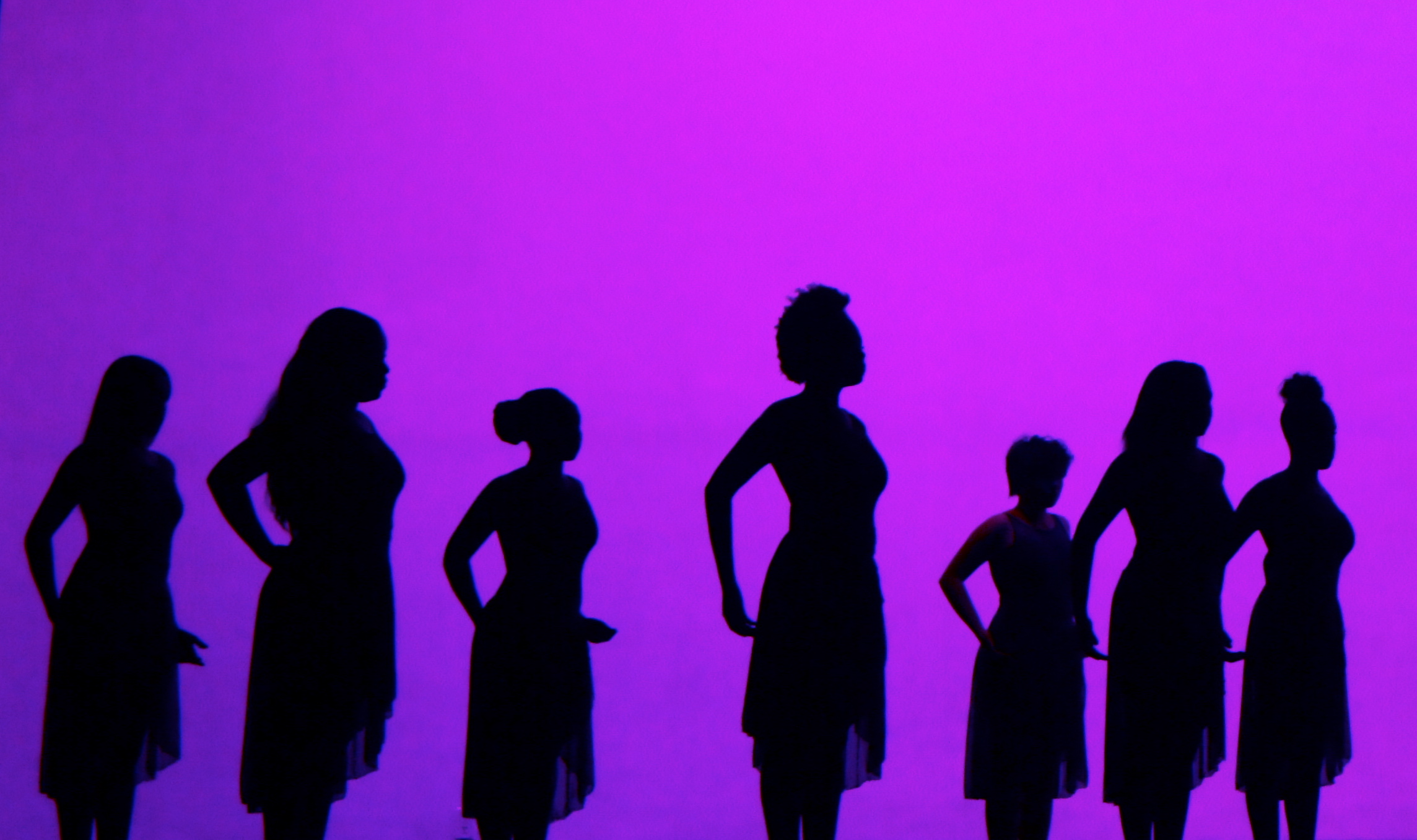 dancer silhouettes 1