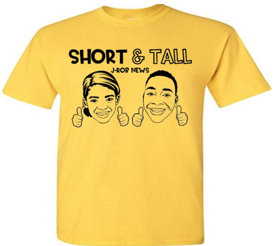 Short and Tall T-Shirts