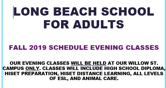 Long Beach School for Adults