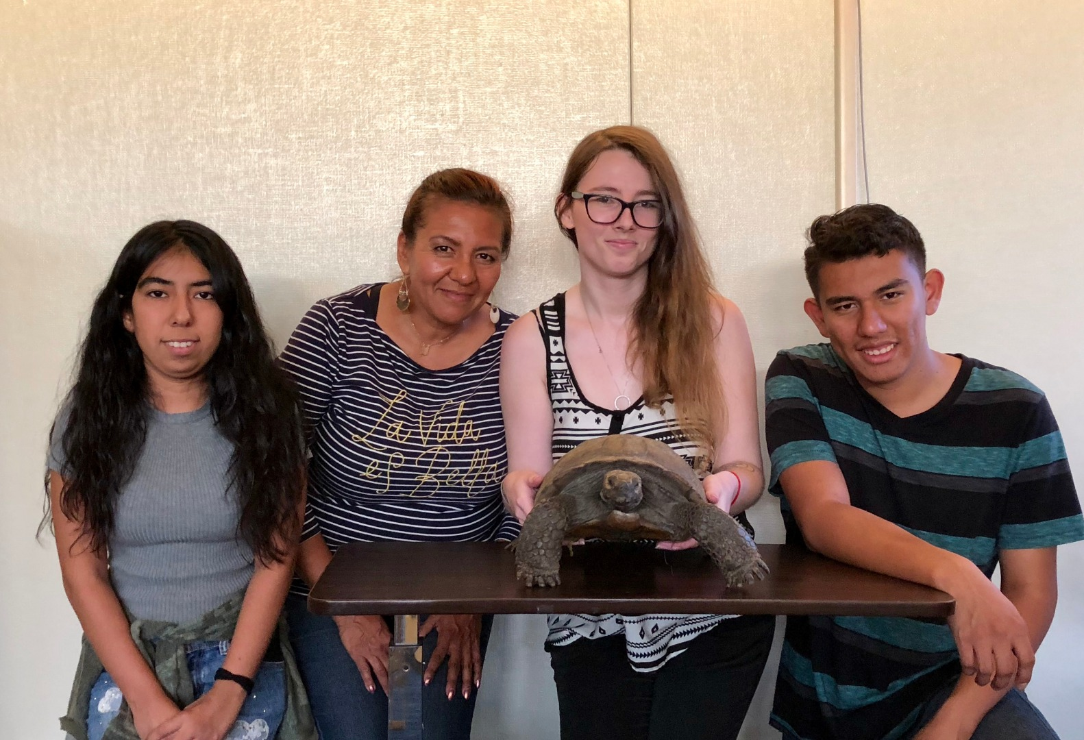 rodney the tortoise and students