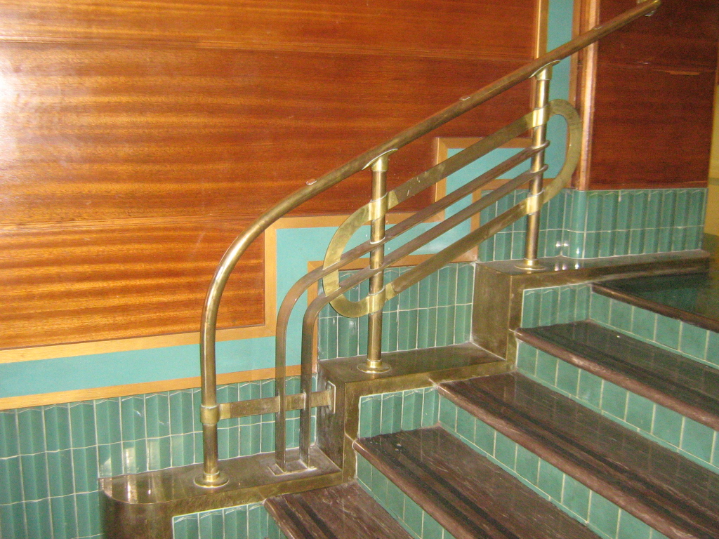 art deco staircase