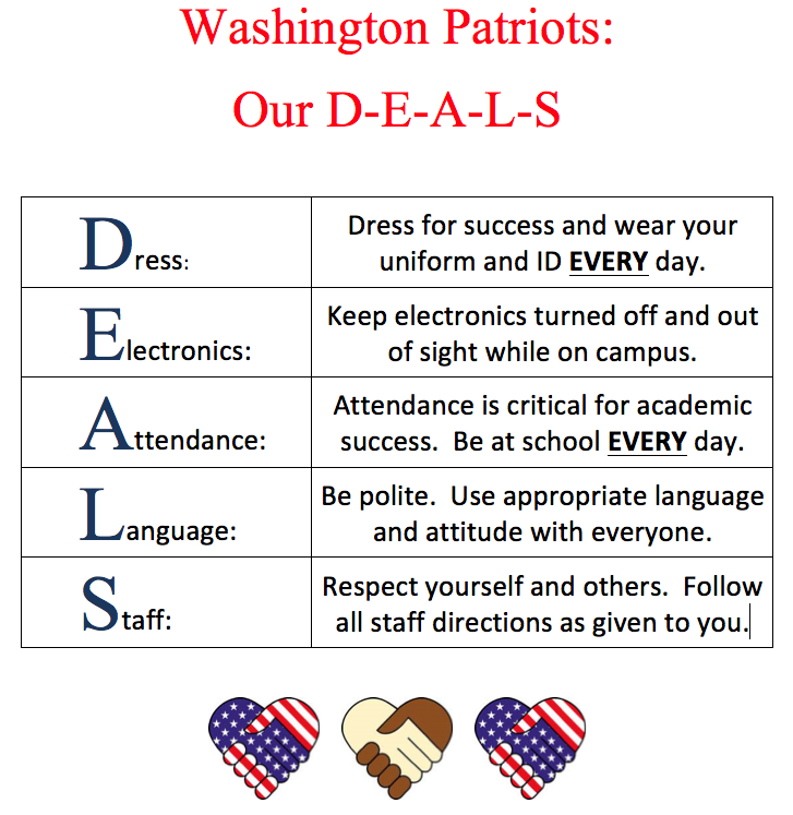 washington patriots our deals flyer