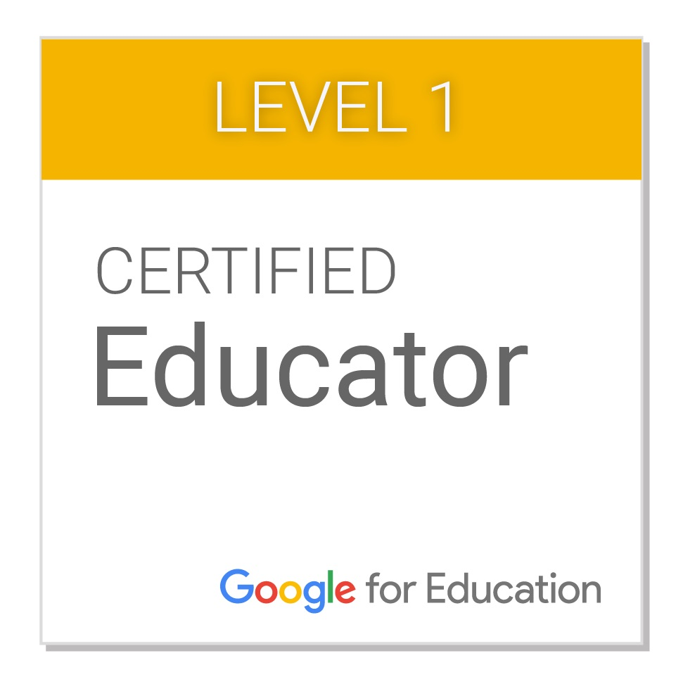Google Certified Teacher Level 1