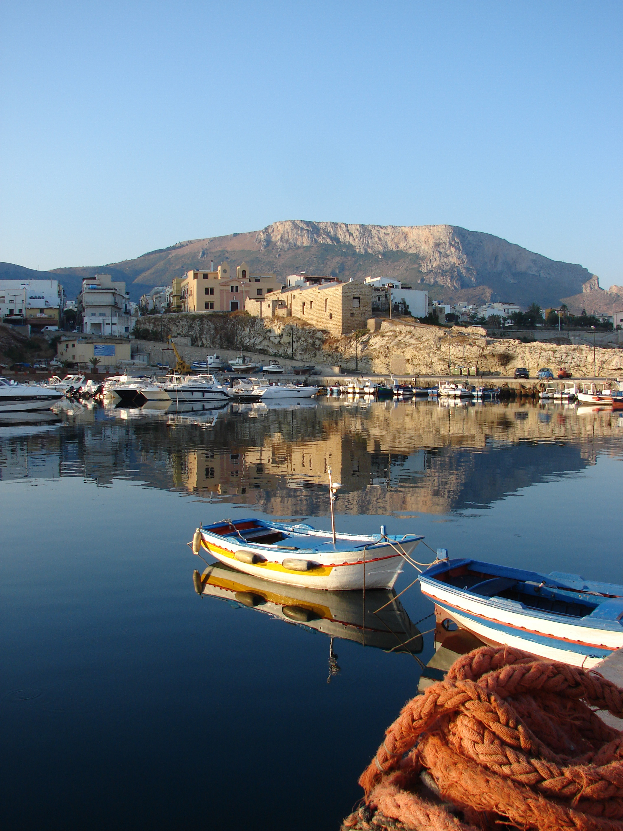 My favorite photo of a port in Sicily.