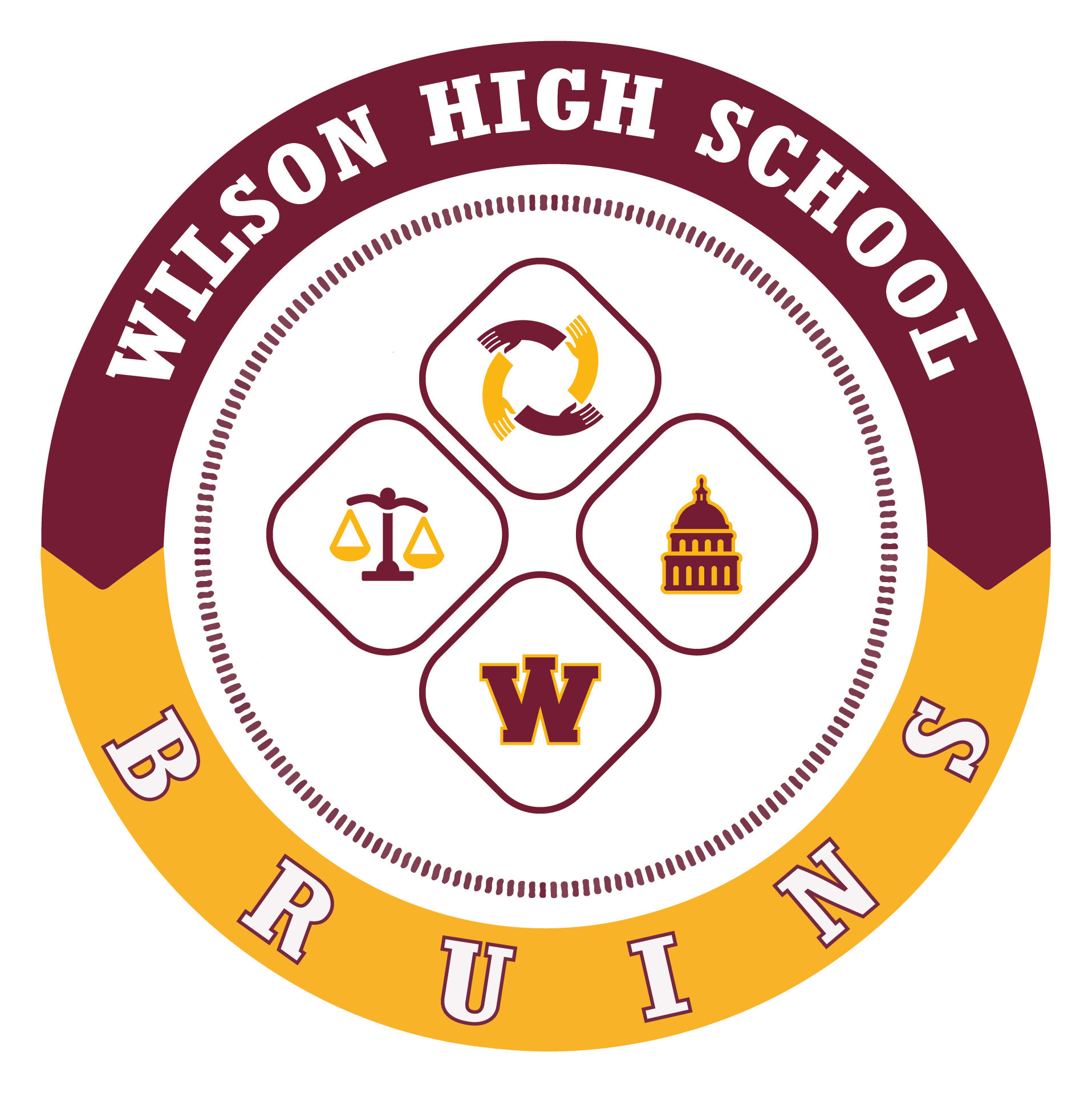 public service bruins wilson high school