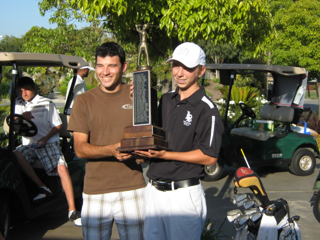 Moore League Individual Champions - Boris Stantchev (2009) and Chase Nicolai (2010)