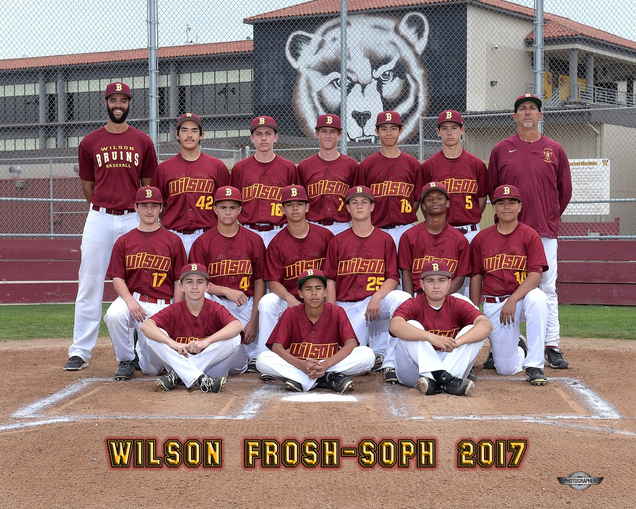 2017 Frosh/Soph Baseball Team