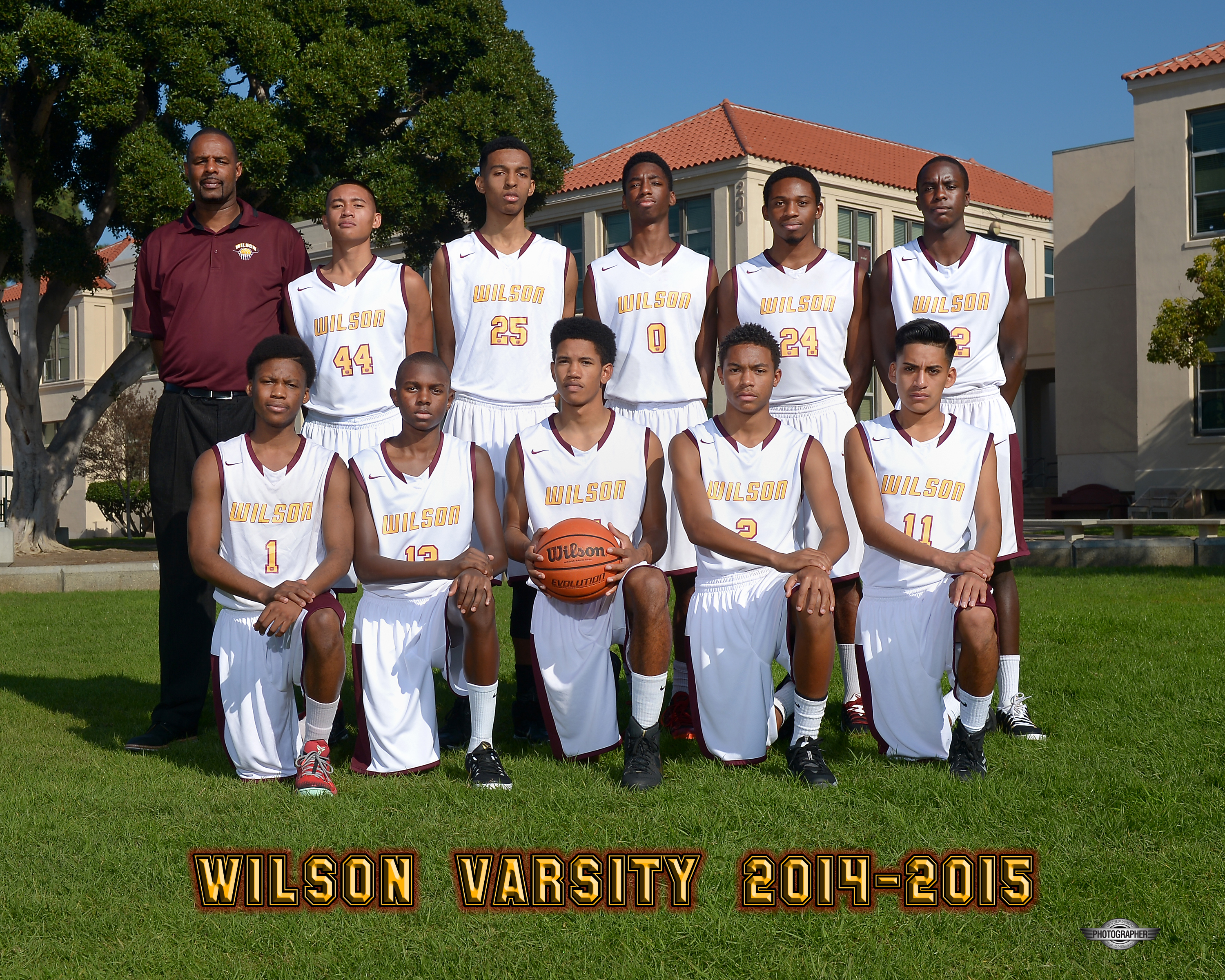 2014-15 Varsity Boys Basketball Team