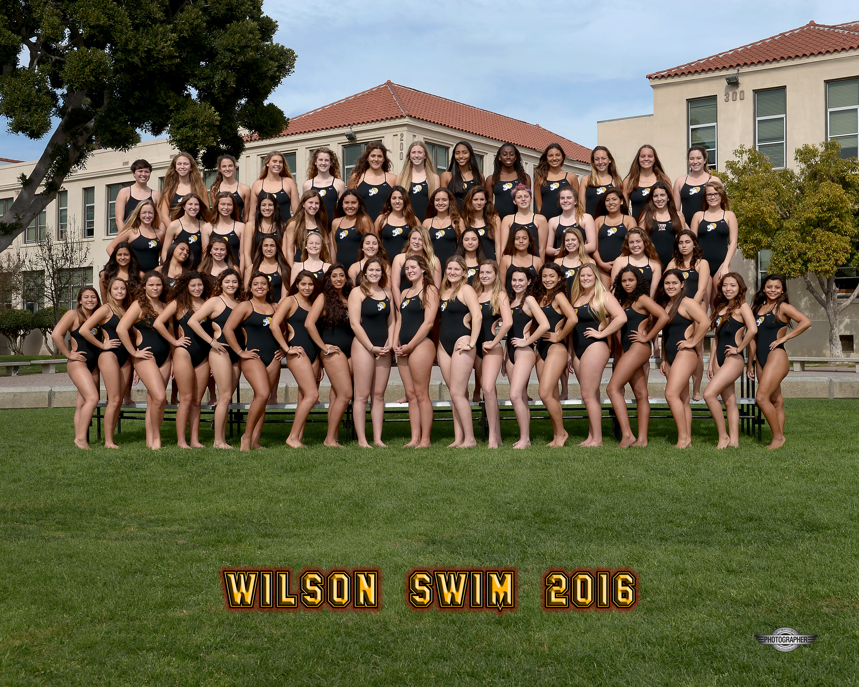 2015-16 Girls Swim Team