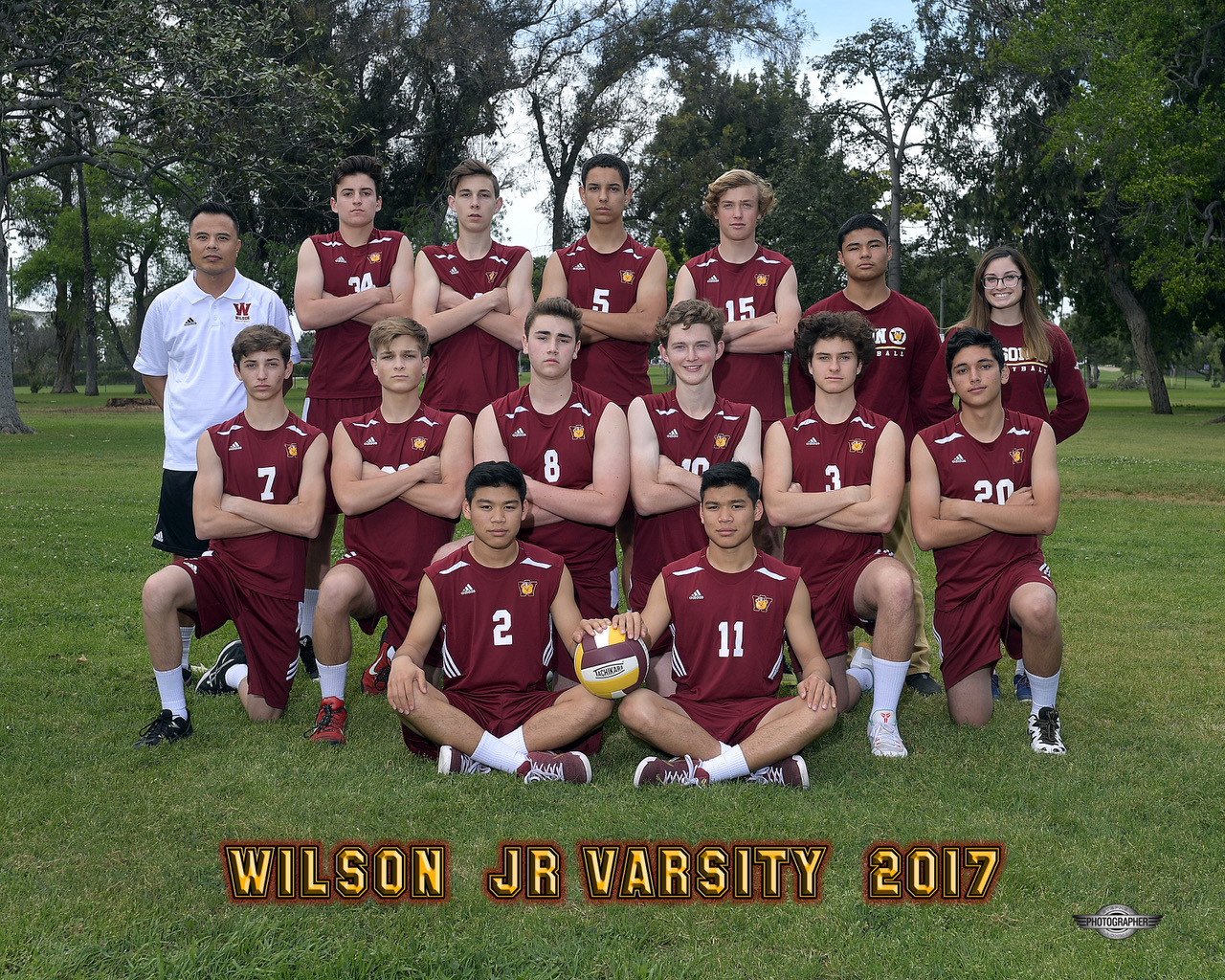 JV Undefeated Moore League Champions (2017)