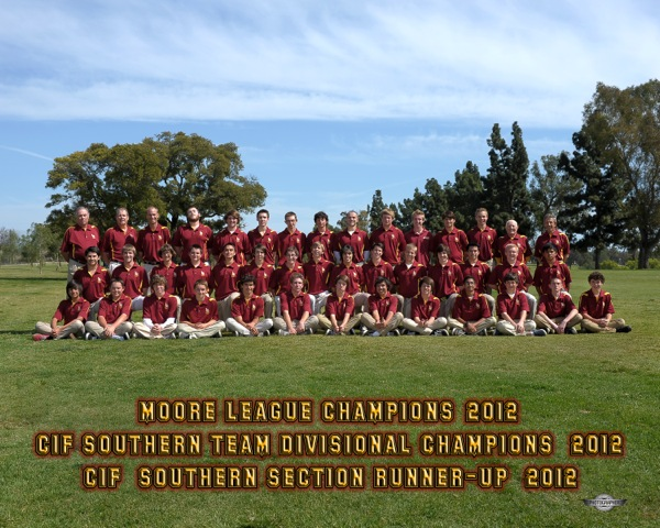 2012 Moore League Champions