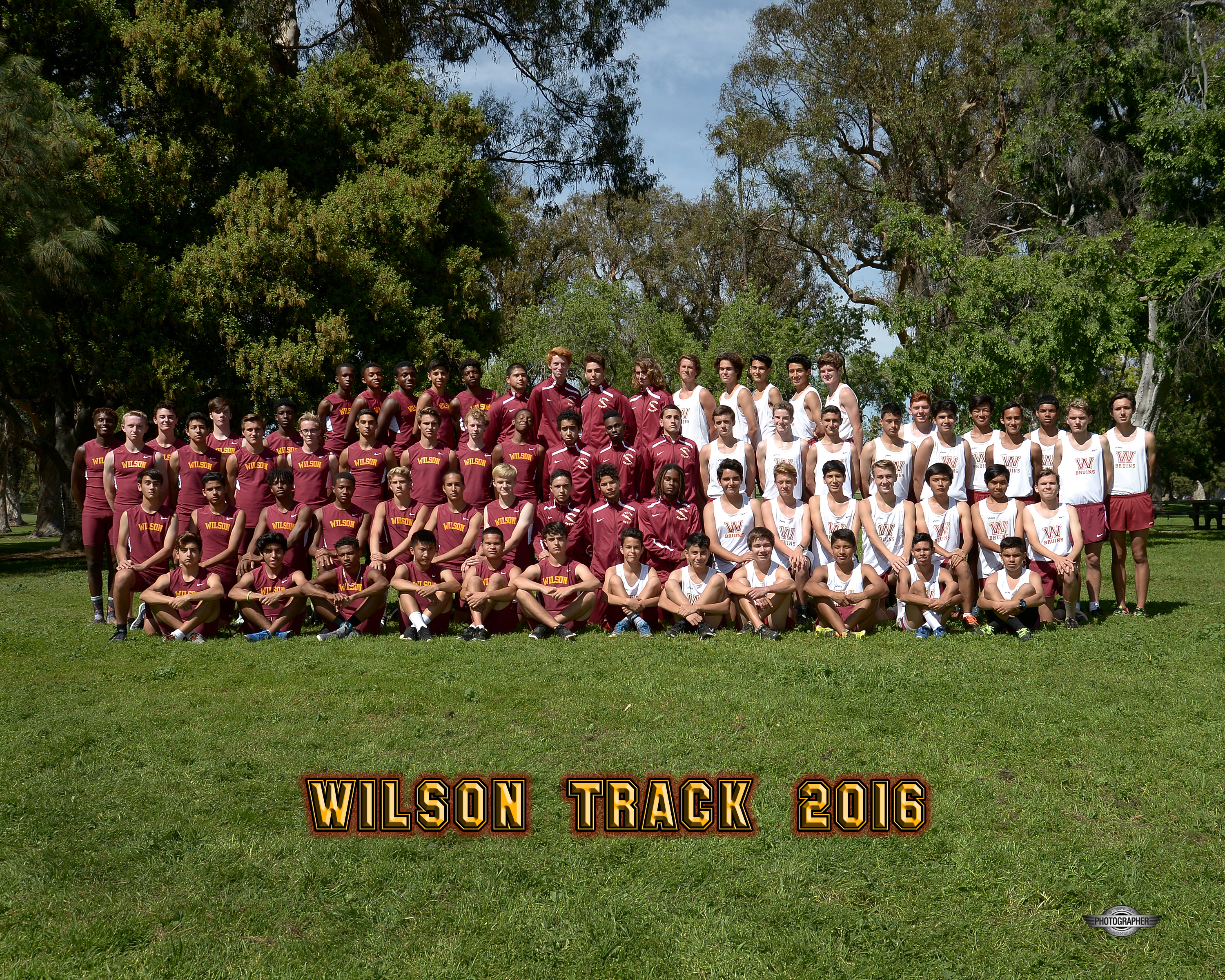 2015-16 Boys Track and Field Team