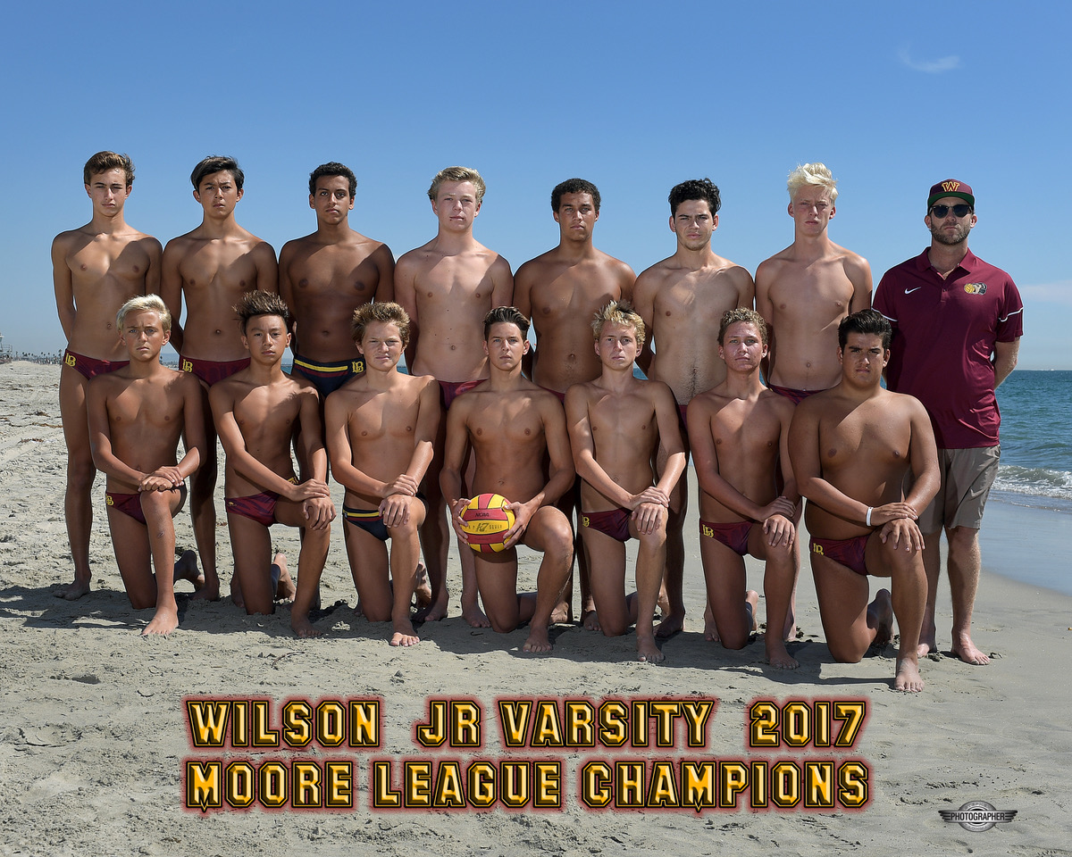 2017 Moore League Champions - JV Boys Water Polo