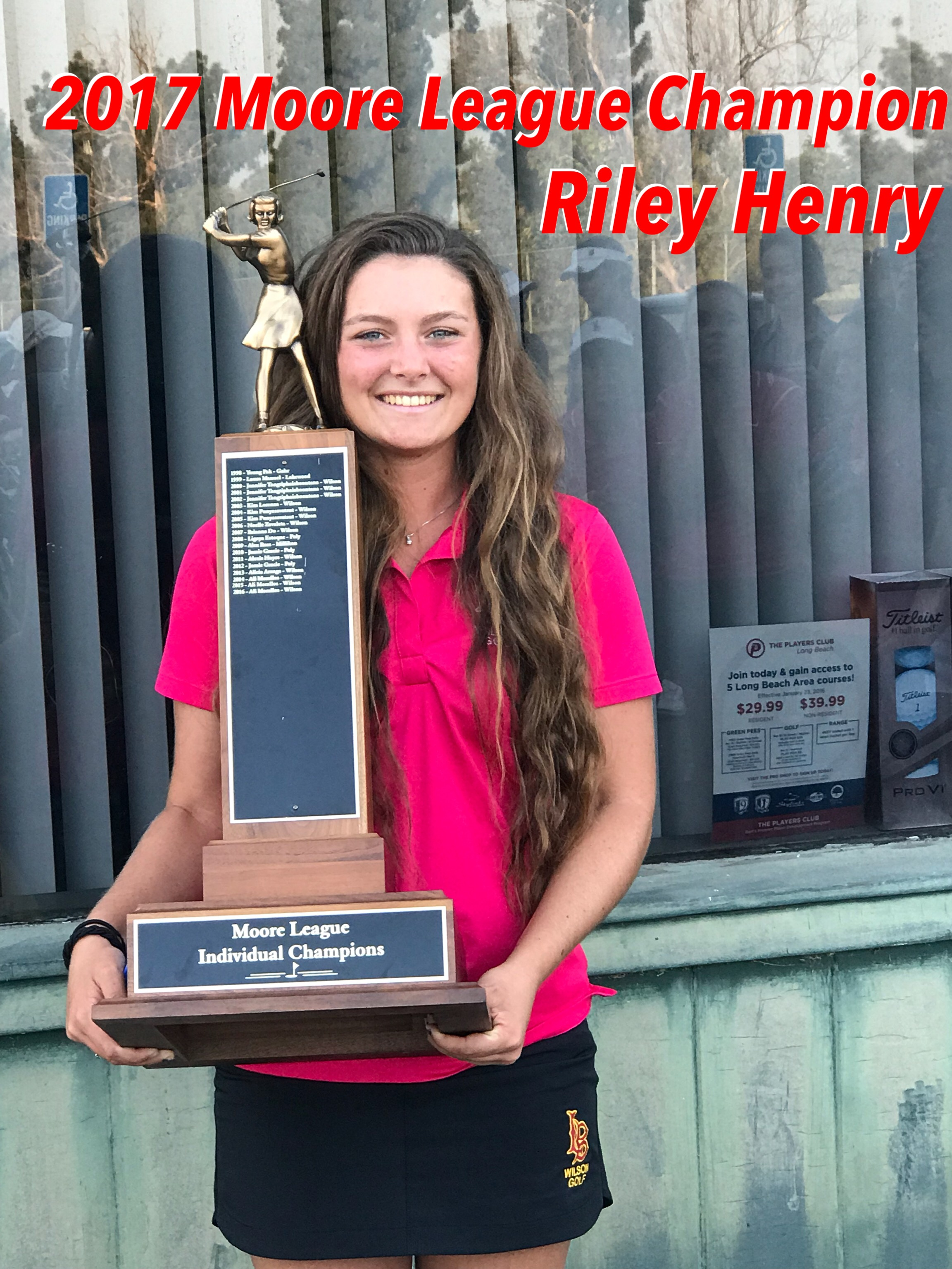 2017 Moore League Champion - Riley Henry