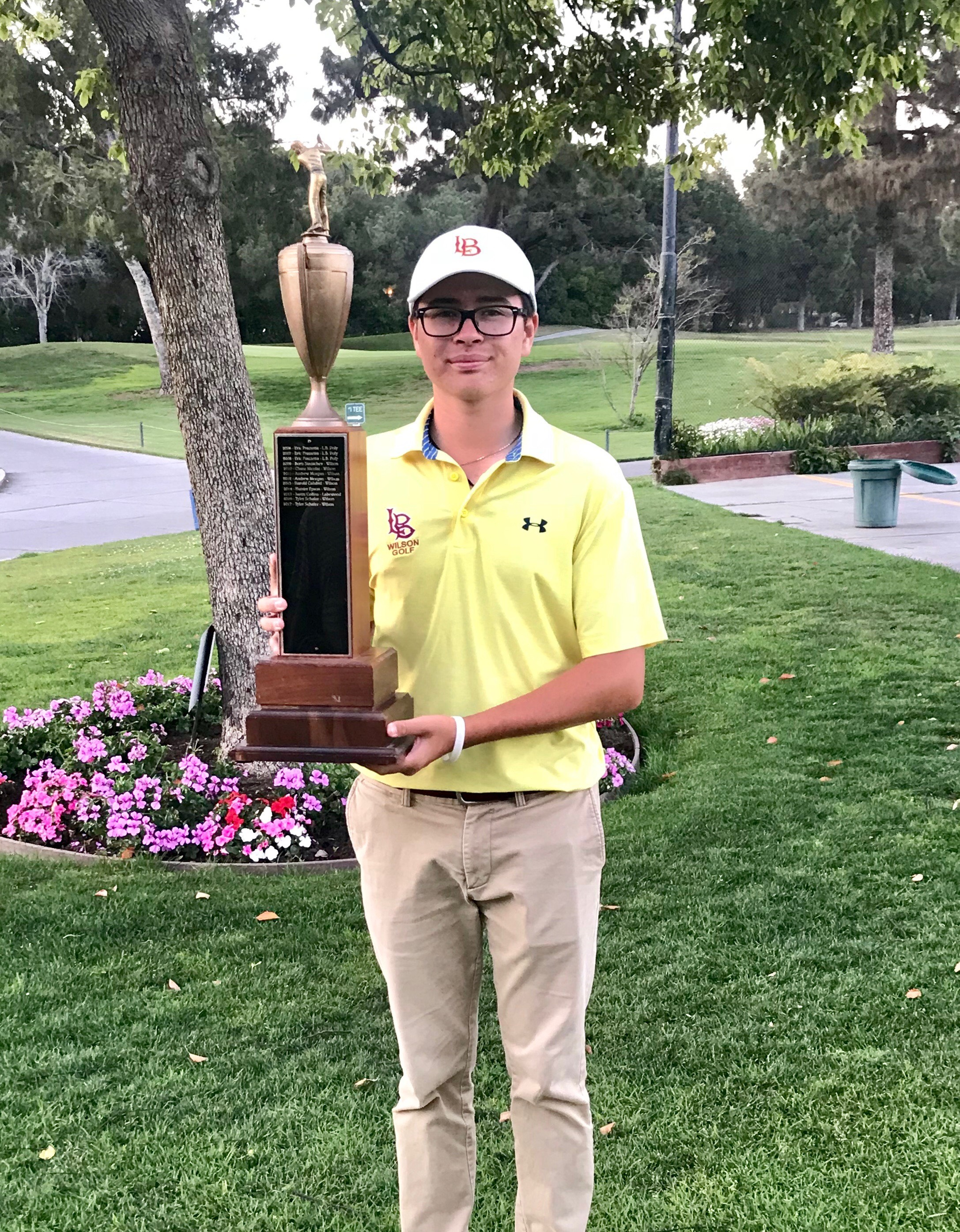 Tyler Schafer - 2018 Moore League Individual Champion
