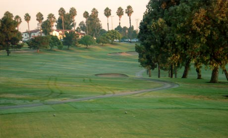 18th Hole at Recreation Park Golf Course