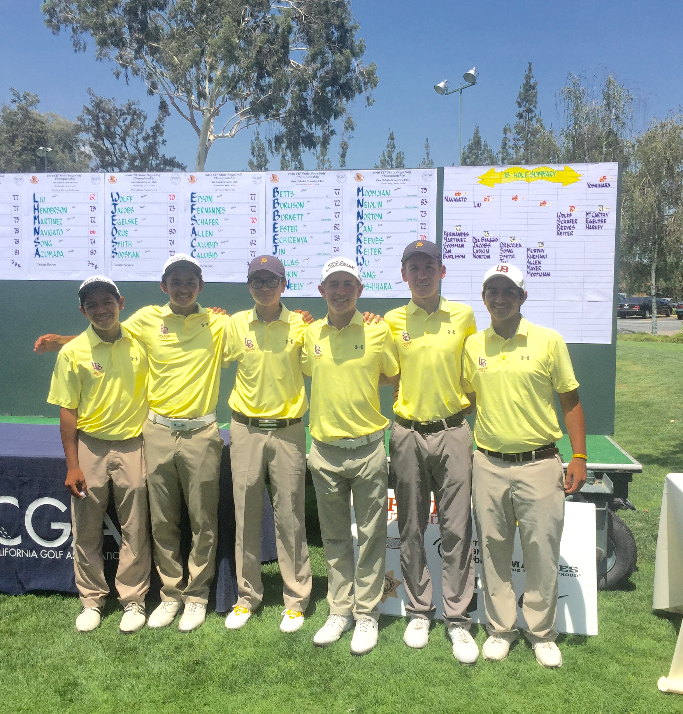 3rd Place - CIF State Finals