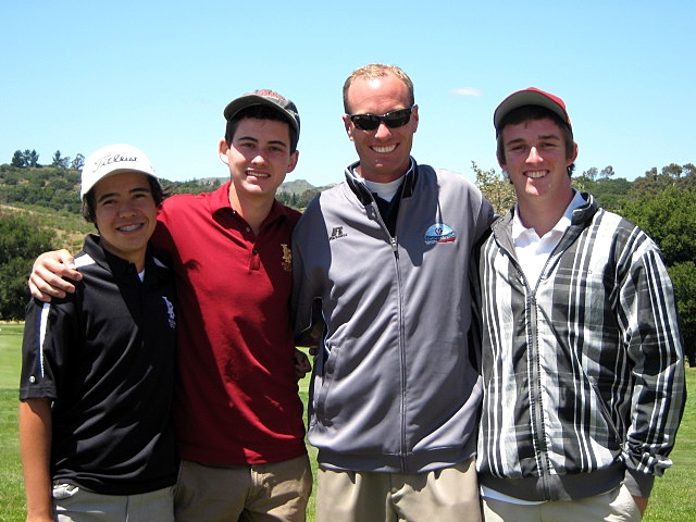2010 CIF-SS Individual Finals - Andrew, Scott, Coach Evans, Jake
