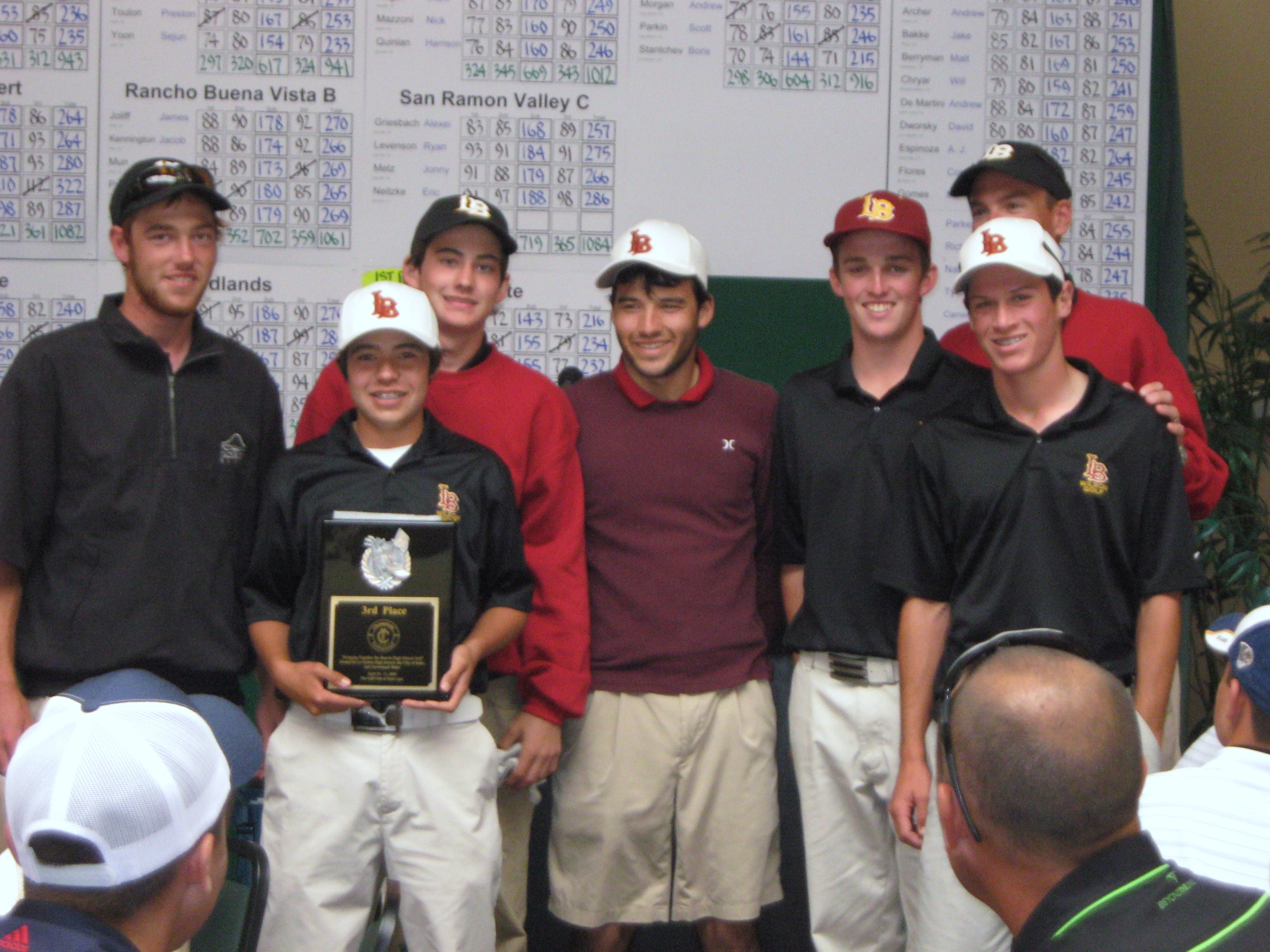 2009 Varsity Team - 3rd Place Champions Invitational